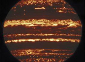 Uma imagem histórica de Júpiter!