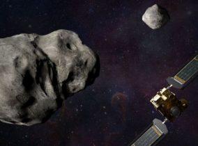 Lançando um Dardo contra um Asteroide!