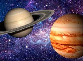 A semana dos planetas gigantes!