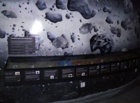 A exposição de meteoritos do MAAS