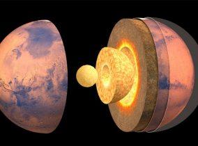 Como se descobriu a estrutura interna de Marte